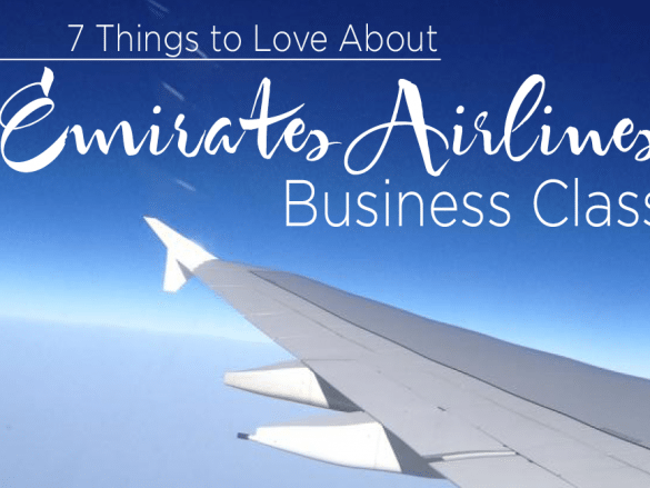 Emirates Airlines Business Class