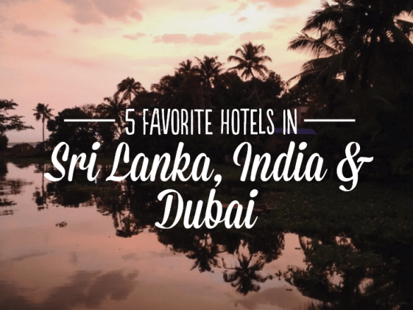 favorite hotels in india