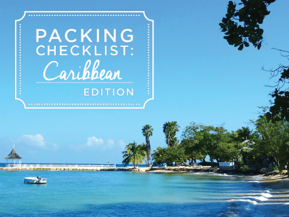 Caribbean-Packing-List