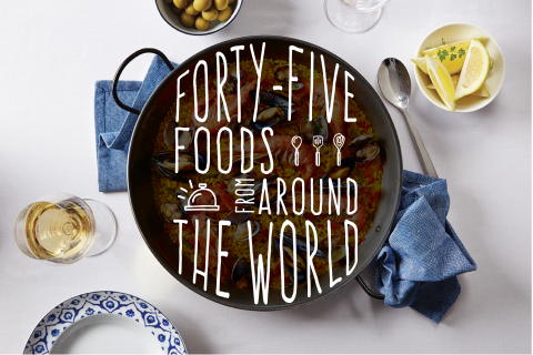 45 Foods from Around the World