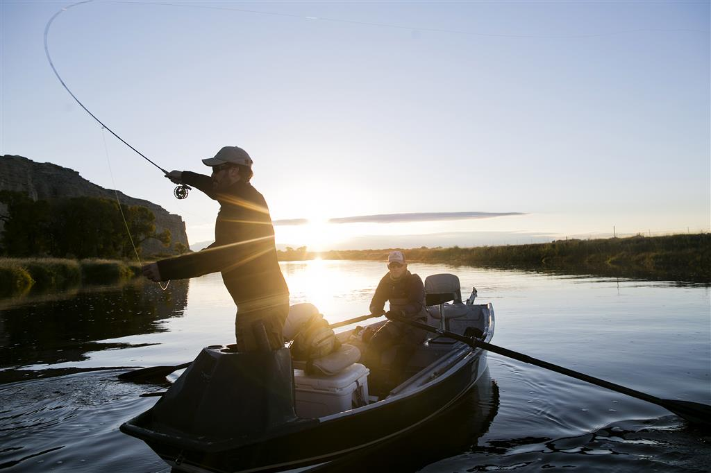 Fly Fishing on Float Boat