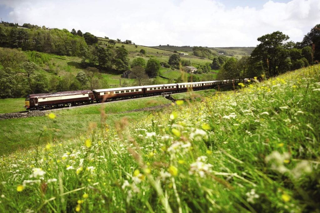 The Belmond Northern Belle in the United Kingdom