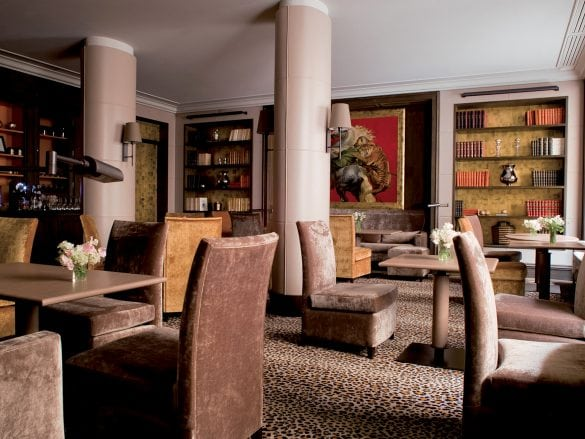 Esprit St Germain_Library_Lounge