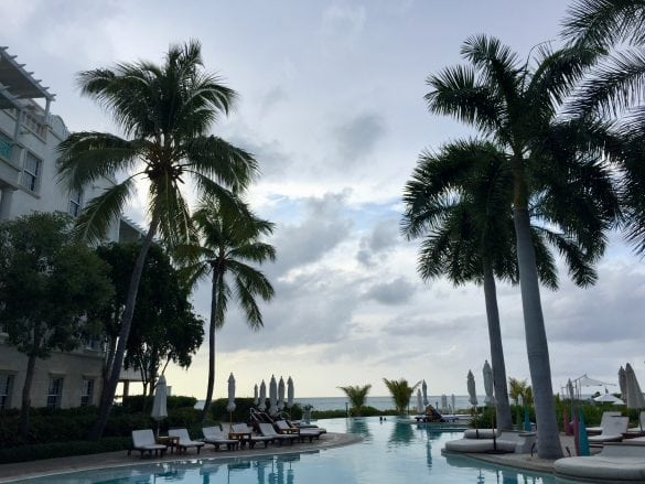 The-Palms-Turks-and-Caicos-Pool-Evening