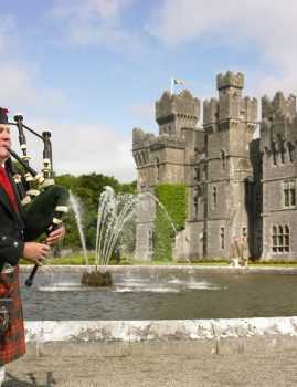 bag-pipe-player-ashford-castle