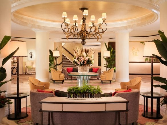 The Beverly Hills Hotel - Lobby