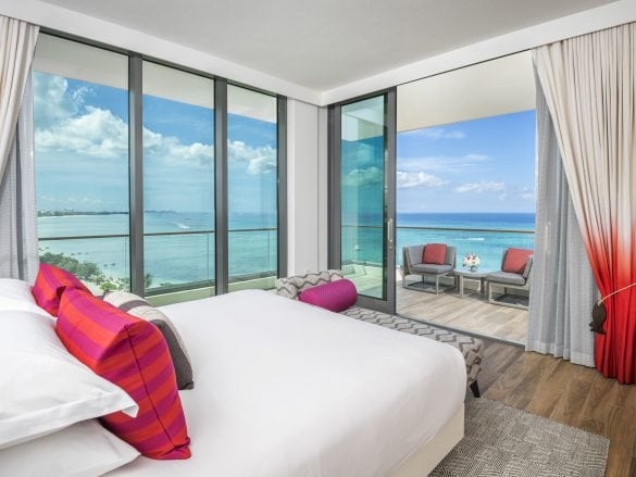 Kimpton-Seafire-View from Master Suite - Seafire Ocean Front One and Two Bedroom Suites