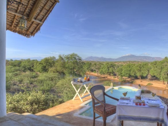 Sasaab-Private plunge pool with views of the river